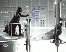 """David Prowse Star Wars """"Darth Vader"""" Signed 11X14 Photo BAS 3"""