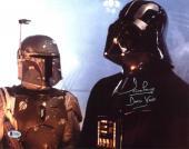 """David Prowse Star Wars """"Darth Vader"""" Signed 11X14 Photo BAS 9"""