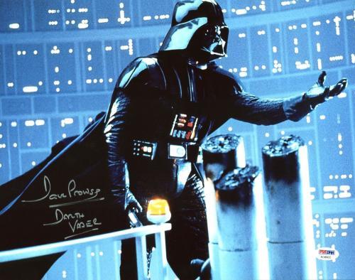 "David Prowse Star Wars ""Darth Vader"" Signed 11X14 Photo PSA/DNA 2"