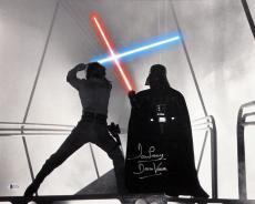 """David Prowse Star Wars """"Darth Vader"""" Signed 16X20 Photo BAS 10"""