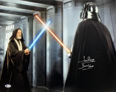 """David Prowse Star Wars """"Darth Vader"""" Signed 16X20 Photo BAS 4"""