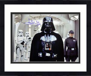 """David Prowse Star Wars """"Darth Vader"""" Signed 16X20 Photo BAS"""
