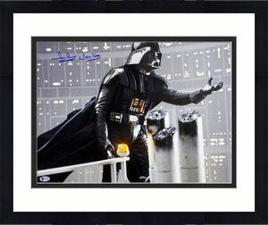 """David Prowse Star Wars """"Darth Vader"""" Signed 16X20 Photo BAS 7"""