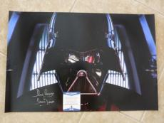 David Prowse Star Wars Darth Vader Signed 16x24 Photo Beckett Certified #6