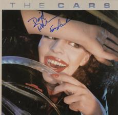 David Robinson & Greg Hawkes Autographed The Cars Album - PSA/DNA COA