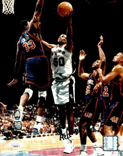 David Robinson San Antonio Spurs Signed/Autographed  8x10 Photo JSA 160792