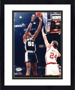 David Robinson Signed Photo 8x10 Autographed Spurs PSA/DNA