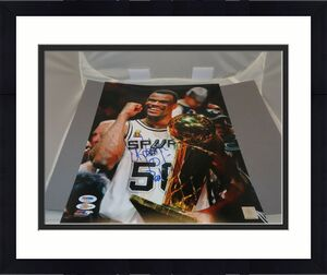 David Robinson Signed San Antonio Spurs 11x14 Photo Autographed PSA/DNA COA 1A