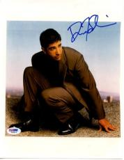 David Schwimmer Friends Signed 8.5X11 Photo Autograph PSA/DNA #I84814