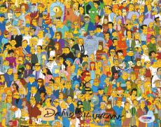"DAVID SILVERMAN Signed Autographed ""The Simpsons"" 8x10 Photo PSA/DNA #AB63475"