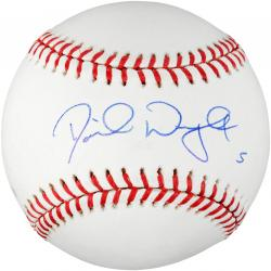 David Wright New York Mets Autographed Baseball - Mounted Memories