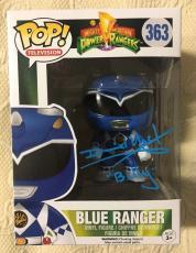 David Yost Signed Autographed Blue Ranger Funko Pop Power Rangers PSA/DNA COA 2