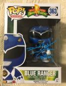 David Yost Signed Autographed Blue Ranger Funko Pop Power Rangers PSA/DNA COA 3