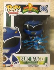 David Yost Signed Autographed Blue Ranger Funko Pop Power Rangers PSA/DNA COA