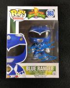 David Yost Signed Mighty Morphin Power Rangers Blue Ranger Funko Pop Figure