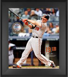 "Chris Davis Baltimore Orioles Framed 20"" x 24"" Gamebreaker Photograph with Game-Used Ball"