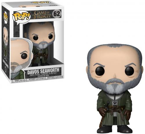 Davos Seaworth Game of Thrones #62 Funko Pop!