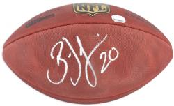 Brian Dawkins Autographed Football - Mounted Memories