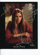 Dawn Olivieri Heroes House of Lies The Vampire Diaries Signed Autograph Photo