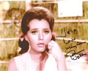 """DAWN WELLS Best Known as MARY ANN SUMMERS on """"GILLIGAN'S ISLAND"""" Signed 10x8 Color Photo"""