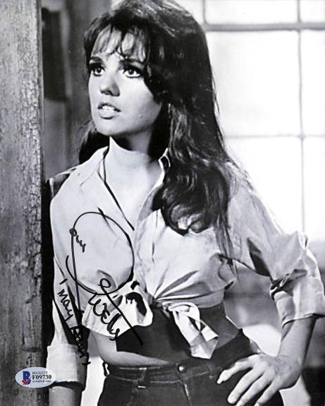 """Dawn Wells Gilligan's Island """"Mary Ann"""" Signed 8x10 Photo BAS #F09730"""