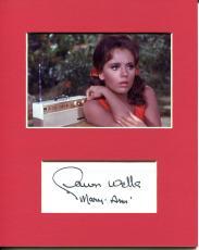 Dawn Wells Gilligan's Island Sexy Mary Ann Star Signed Autograph Photo Display