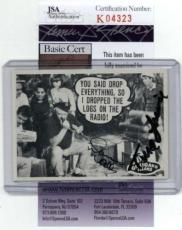 Dawn Wells & Tina Louise Gilligans Island Signed Trading Card 1997 Dart  Id: