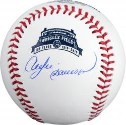 Andre Dawson Autographed Wrigley Field 100th Anniversary Baseball