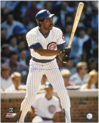 "Andre Dawson Chicago Cubs Autographed 16"" x 20"" Photograph - Mounted Memories"