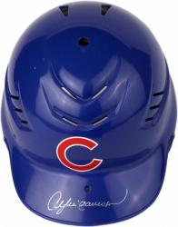 Andre Dawson Chicago Cubs Autographed Cool-Flo Replica Batting Helmet - Mounted Memories