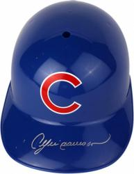 Andre Dawson Chicago Cubs Autographed Full Size Replica Batting Helmet - Mounted Memories