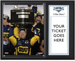 "Matt Kenseth 2012 Daytona 500 Champion Sublimated 12"" x 15""""I Was There"" Plaque - Mounted Memories"