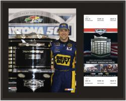 "Matt Kenseth 2012 Daytona 500 Champion Sublimated 12"" x 15"" Plaque - Mounted Memories"