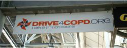 Daytona International Speedway Whole Plastic Sign-Drive4Copd.org