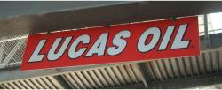 Daytona International Speedway Whole Plastic Sign-Lucas Oil