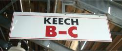Daytona International Speedway Whole Wood Sign-Keech B-C-