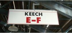 Daytona International Speedway Whole Wood Sign-Keech E-F