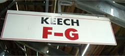 Daytona International Speedway Whole Wood Sign-Keech F-G