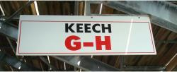 Daytona International Speedway Whole Wood Sign-Keech G-H