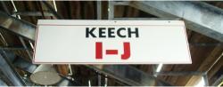 Daytona International Speedway Whole Wood Sign-Keech I-J