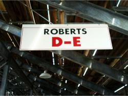 Daytona International Speedway Whole Wood Sign-Roberts D-E