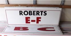 Daytona International Speedway Whole Wood Sign-Roberts E-F