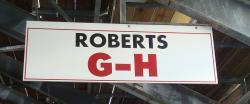 Daytona International Speedway Whole Wood Sign-Roberts G-H