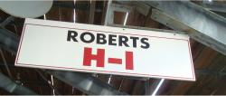 Daytona International Speedway Whole Wood Sign-Roberts H-I
