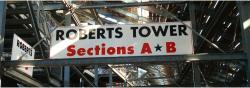 Daytona International Speedway Whole Wood Sign-Roberts Tower SectionS A & B