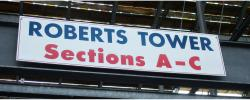 Daytona International Speedway Whole Wood Sign-Roberts Tower SectionS A-C