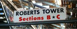 Daytona International Speedway Whole Wood Sign-Roberts Tower SectionS B & C
