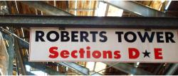 Daytona International Speedway Whole Wood Sign-Roberts Tower SectionS D & E