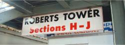 Daytona International Speedway Whole Wood Sign-Roberts Tower SectionS H-J