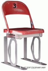 Daytona Metal Chair (#3) Silver Track Bottom